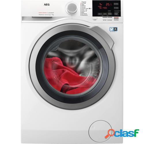 AEG L6FBG942P lavadora Independiente Carga frontal 9 kg 1400 RPM A+++-30% Blanco