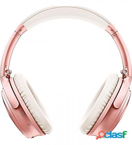 Auriculares inalámbricos bose quietcomfort 35 ii/ con micrófono/ bluetooth/ oro rosa