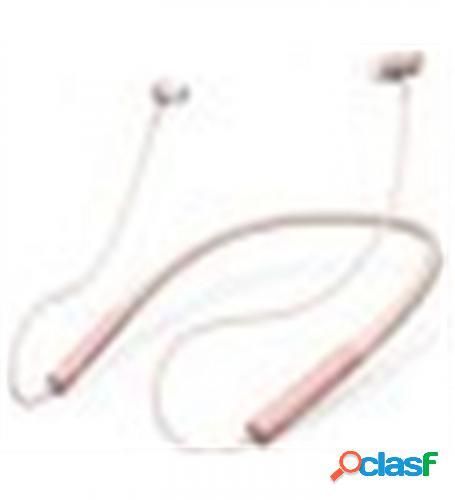 Auricularesmicro energy sistem neckband 3 bt rosa