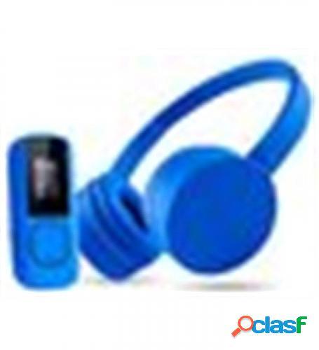 Auricularesmicro+mp3 energy sistem music pack azul