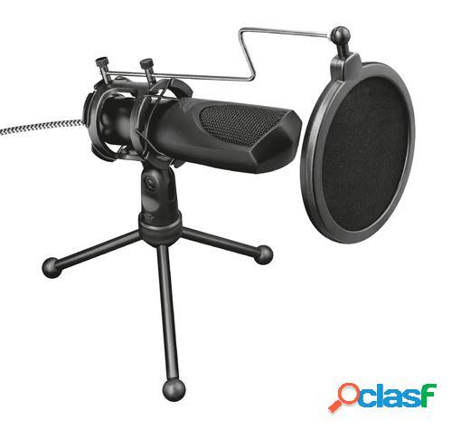 Trust gxt 232 mantis negro micrófono para pc