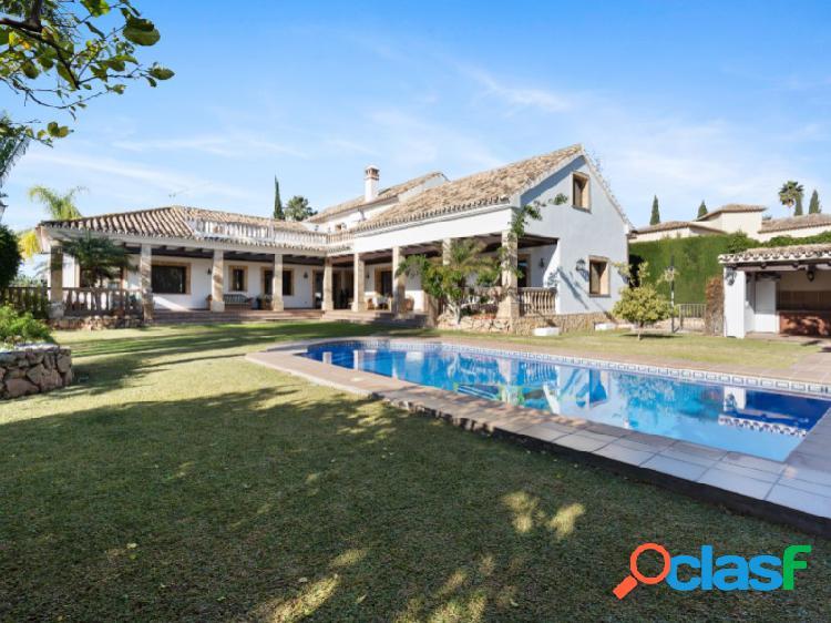 Villa con encanto español en mijas golf