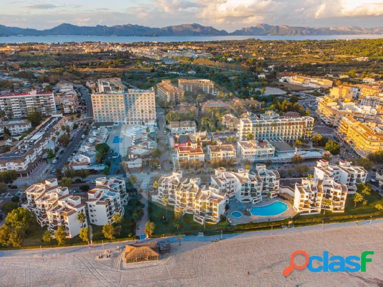 Oportunidad de inversión en primera línea de la playa de alcudia
