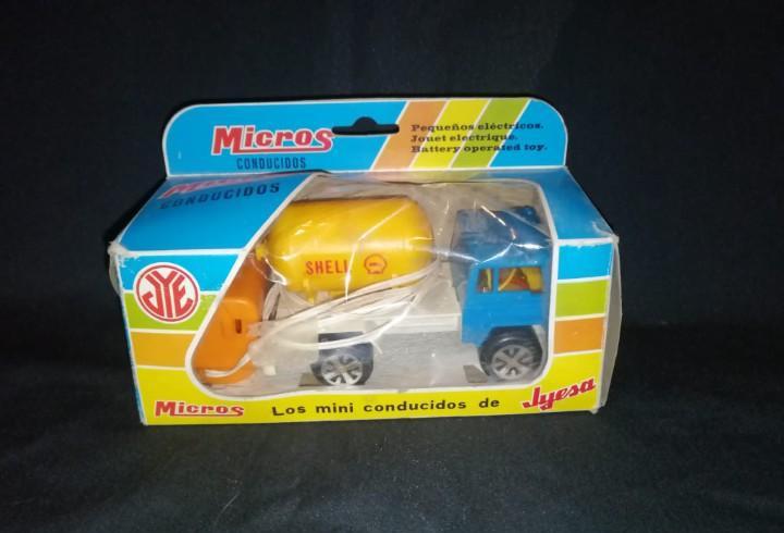 Camión shell.micros conducidos. jyesa. españa.
