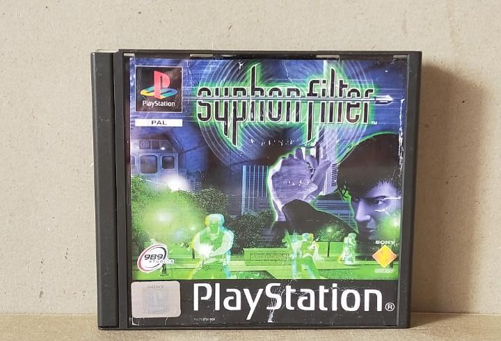 Juego videojuego playstation ps1 - psx pal - syphon filter -