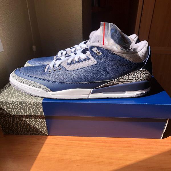 Nike air jordan 3 midnight navy georgetown