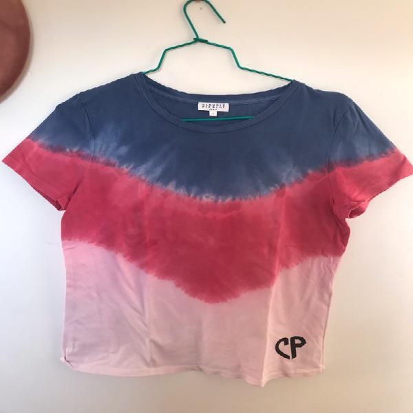 Tee shirt droit tie &dye claudie pierlot