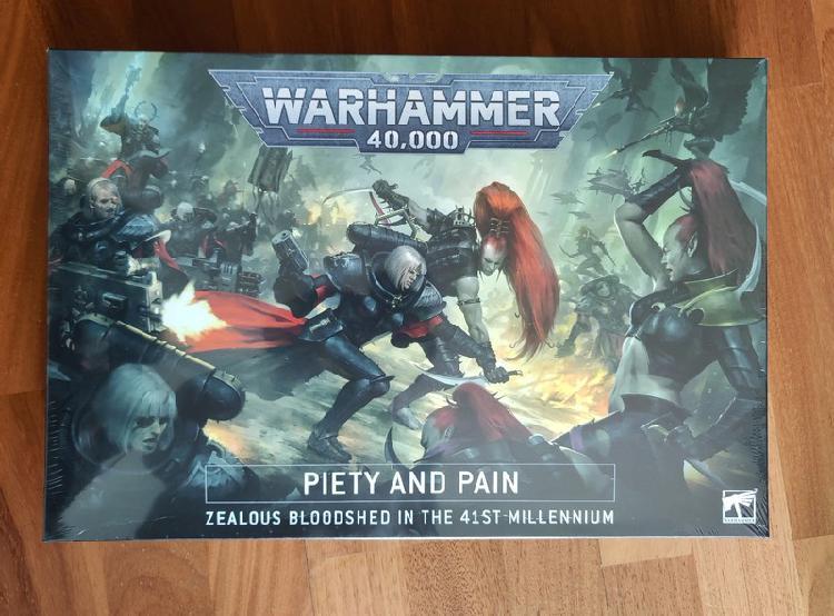 Warhammer 40000 piety and pain caja sellada nueva (english)