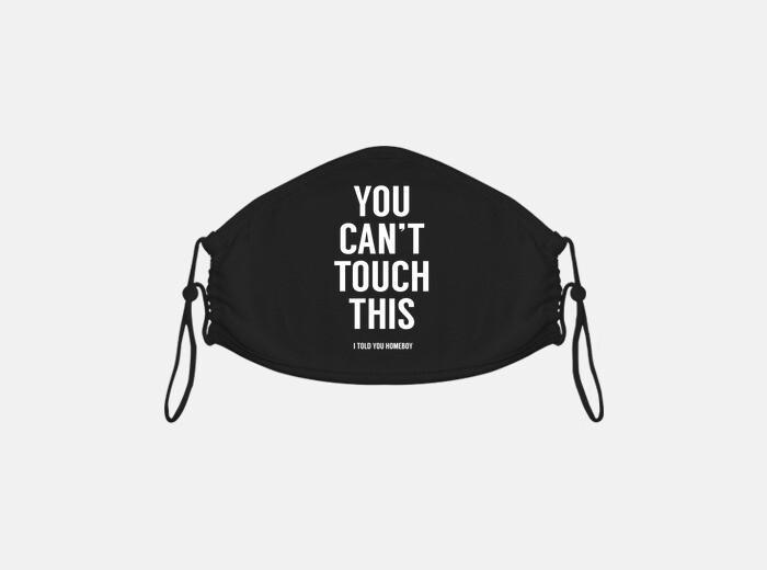 Mascarilla no puedes tocar esto