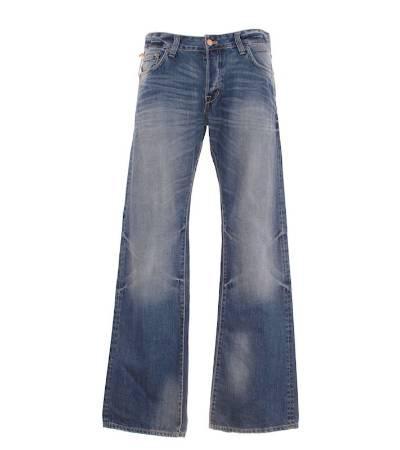 Pantalón hombre – h&m vaquero en color azul claro de