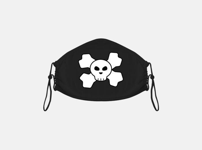 Skull mascarilla