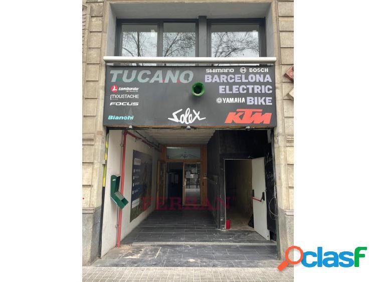 Local comercial en alquiler, gran via de les corts catalanes, barcelona.