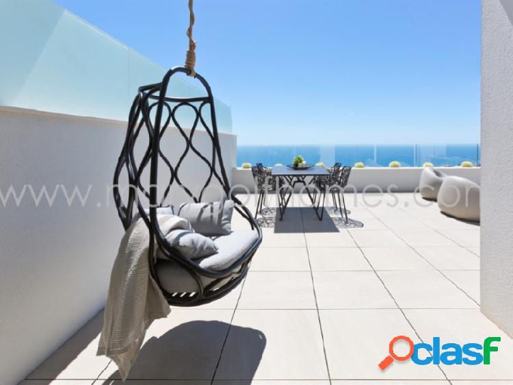 Apartamentos con vistas al mar blue infinity en cumbre del sol, alicante