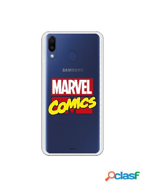 Funda oficial marvel comics para samsung galaxy m20