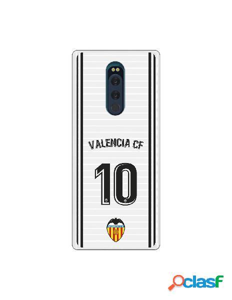 Funda oficial valencia camiseta primera equipación valencia c.f. para sony xperia xz4