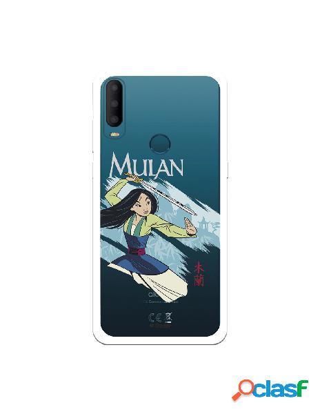 Funda para alcatel 1s 2020 oficial de disney mulan tipografia - mulan