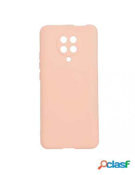 Funda ultra suave rosa arena para xiaomi redmi k30 pro