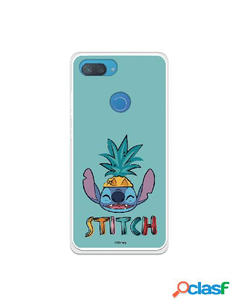 Funda para xiaomi mi 8 lite oficial de disney stitch hawaiano - lilo & stitch