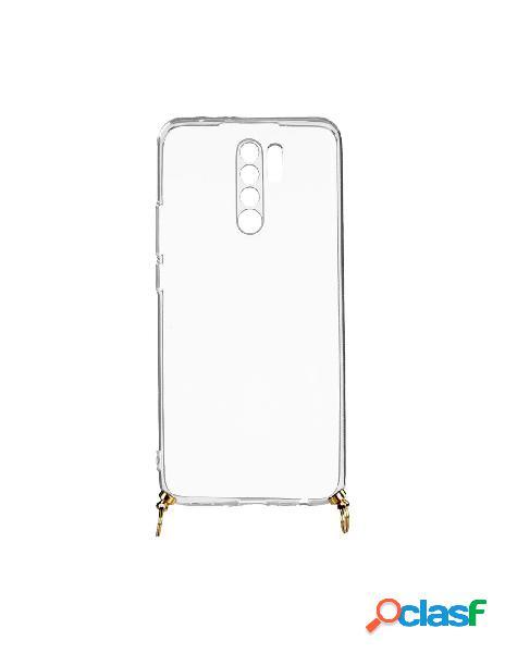 Funda silicona colgante transparente para xiaomi redmi 9