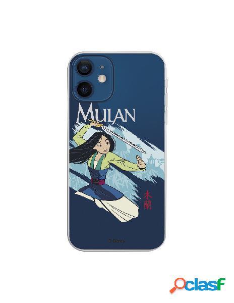 Funda para iphone 12 mini oficial de disney mulan tipografia - mulan