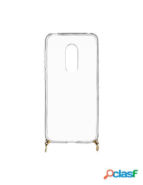 Funda silicona colgante transparente para alcatel 1s 2019
