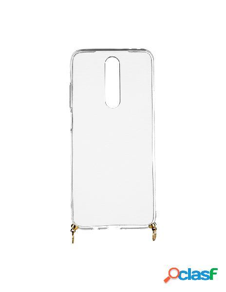 Funda silicona colgante transparente para lg k30