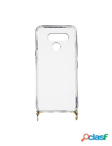 Funda silicona colgante transparente para lg k50