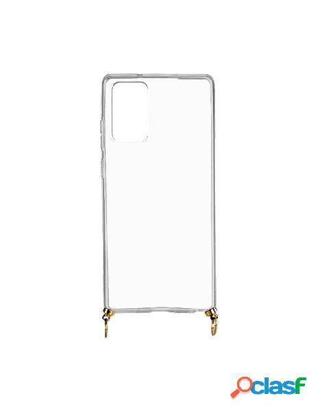 Funda silicona colgante transparente para samsung galaxy note 20