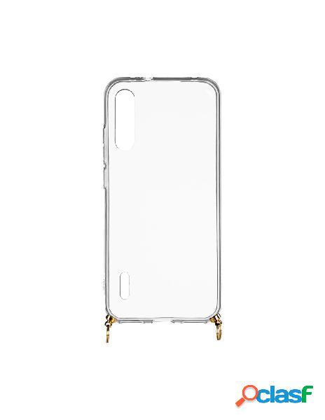 Funda silicona colgante transparente para xiaomi mi 9 lite