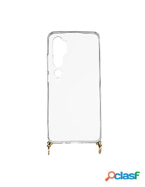 Funda silicona colgante transparente para xiaomi mi note 10 pro