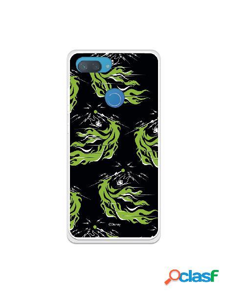 Funda para xiaomi mi 8 lite oficial de disney maléfica patrón verde - villanas disney