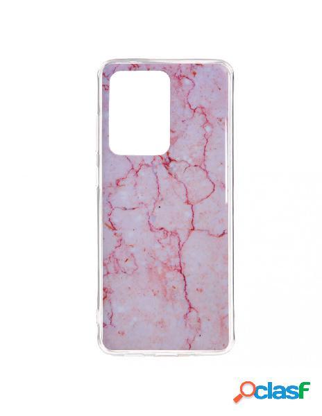 Funda mármol rosa para samsung galaxy s20 ultra