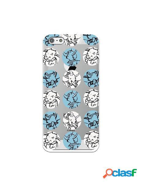 Funda para iphone 5s oficial de disney dumbo patrón circulos - dumbo