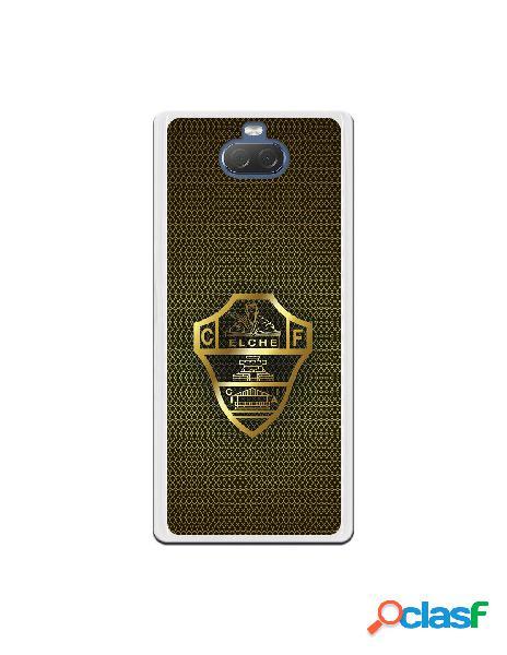 Funda oficial escudo elche cf dorado para sony xperia 10