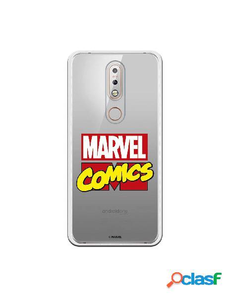 Funda oficial marvel comics para nokia 7.1