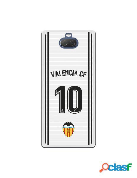 Funda oficial valencia camiseta primera equipación valencia c.f. para sony xperia 10