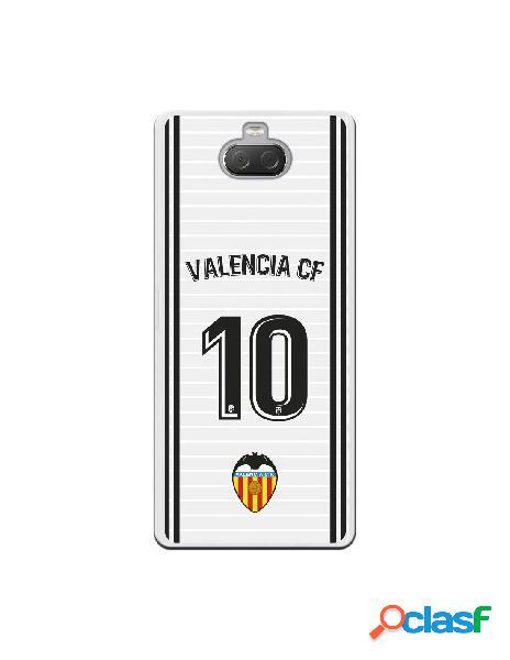 Funda oficial valencia camiseta primera equipación valencia c.f. para sony xperia 10 plus