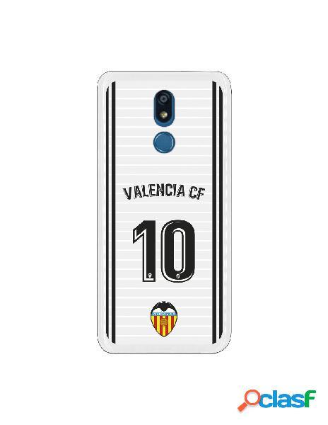 Funda oficial valencia camiseta primera equipación valencia c.f. para lg k40