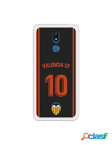 Funda oficial valencia camiseta tercera equipación valencia c.f. para lg k40