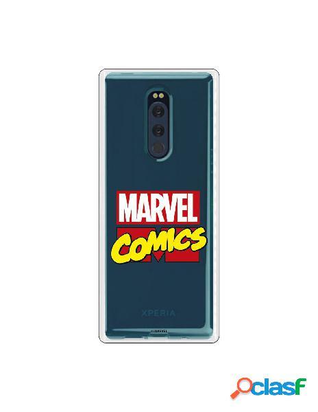 Funda oficial marvel comics para sony xperia xz4