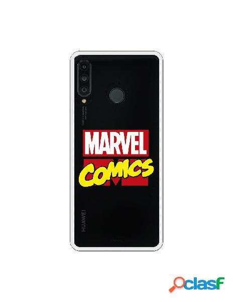 Funda oficial marvel comics para huawei p30 lite