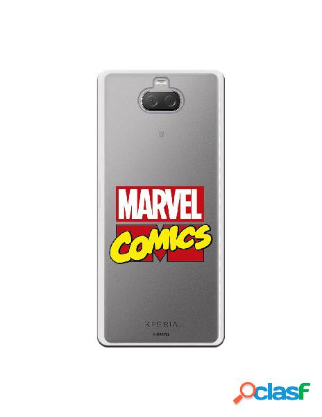 Funda oficial marvel comics para sony xperia 10 plus