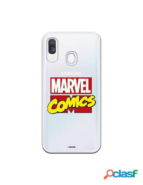 Funda oficial marvel comics para samsung galaxy a40