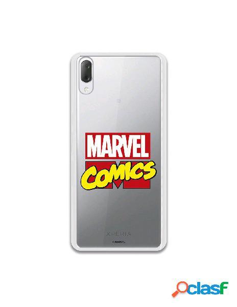 Funda oficial marvel comics para sony xperia l3