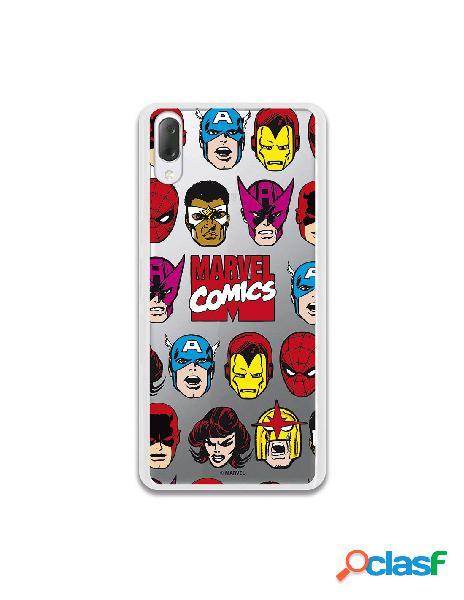 Funda oficial marvel comics super heroes para sony xperia l3
