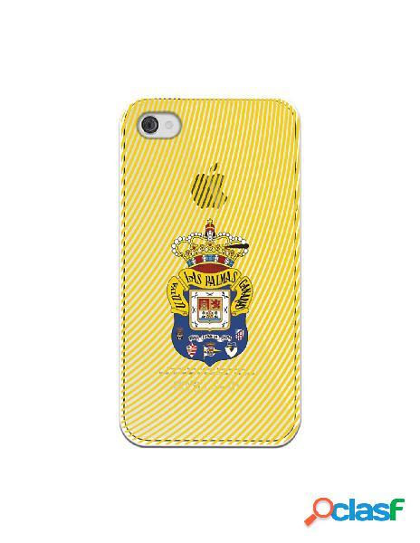 Funda para iphone 4s oficial del las palmas escudo azul fanda amarillo - licencia oficial del las palmas