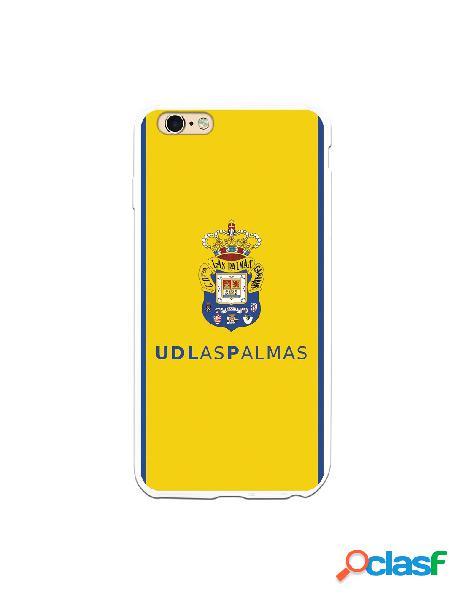 Funda para iphone 6s plus oficial del las palmas escudo color fondo amarillo - licencia oficial del las palmas
