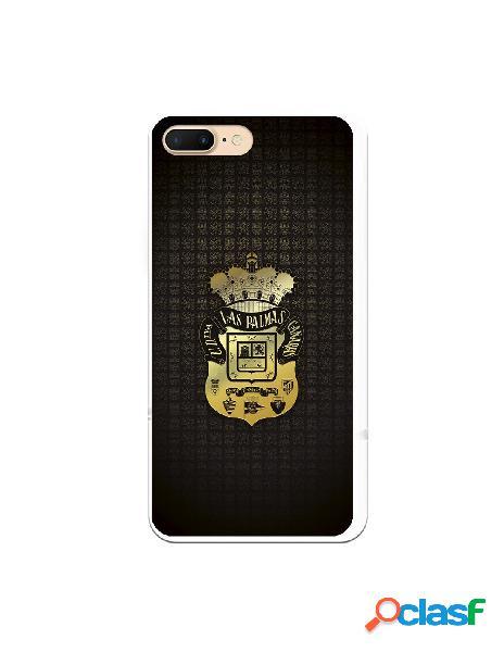 Funda para iphone 8 plus oficial del las palmas escudo dorado - licencia oficial del las palmas