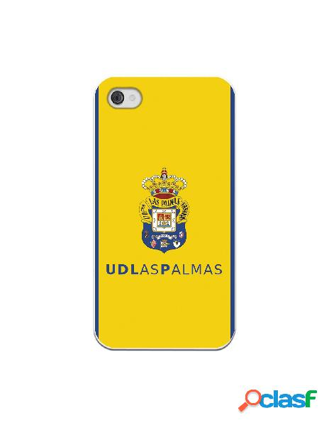 Funda para iphone 4s oficial del las palmas escudo color fondo amarillo - licencia oficial del las palmas