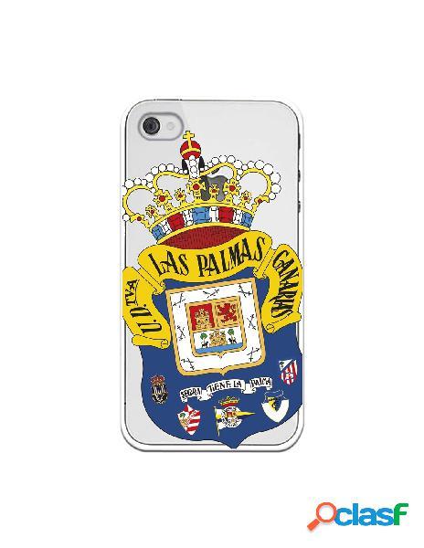 Funda para iphone 4s oficial del las palmas escudo transparente - licencia oficial del las palmas